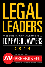 Legal Leaders Top Rated Lawyers 2014